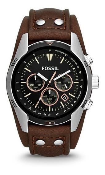 Relógio Masculino Fossil Coachman Ch2891 Loja Autorizada!