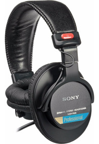 Headphone Sony Mdr - 7506 Novo Original Fone