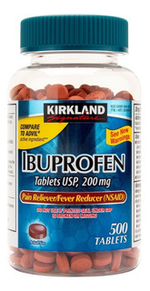 Medicamento Ibuprofeno 200mg 500 Tabletas