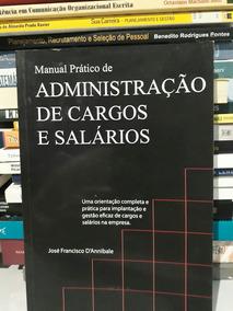 Livro Manual Administração De Cargos E Salários