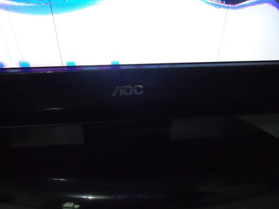 Tv/monitor Aoc L22w931 22 Hdmi Tela Quebrada Leia