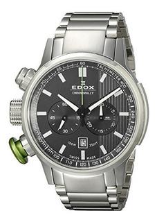 Edox Men 10302 3mv Gin Chronorally Display Analogico Reloj D