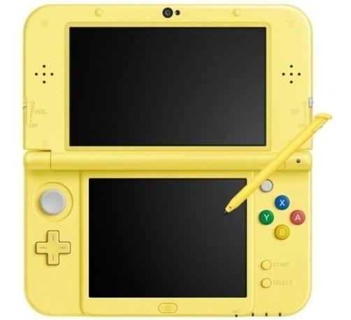 New Nintendo 3ds Xl New Estilo Pikachu Edition Amarelo
