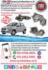 Bombas De Agua Automotrices Fiat Palio,siena,punto 1.7 Td Gt