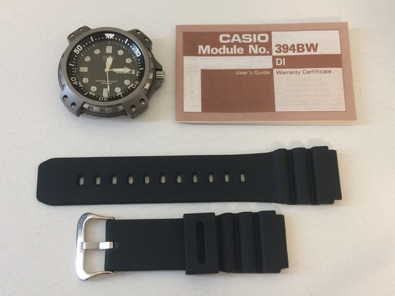 Relógio Casio Md-703 Série Prata Diver - Antigo - Raríssimo