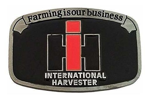 La Agricultura Del Logotipo De La Cosechadora Internacional