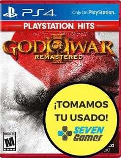 God Of War 3 Remasterizado Ps4 Gow Juego Fisico Sevengamer