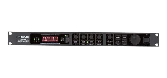 Processador De Efeito De Voz Phonic Dfx 2000