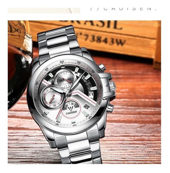 Relógio - Cadisen - Multifuncional - Original - Em Estoque