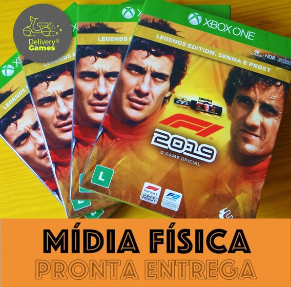 F1 Formula 1 2019 Xbox One Legends Ed Midia Fisica Lacrado