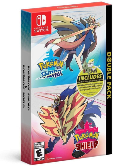 Pokémon Sword And Shield Doublepack - Switch - Mídia Física!
