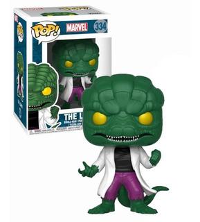Funko Pop Lizard Spider Man Marvel Exclusivo