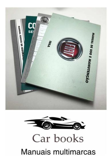 Manual Do Fiat/ Idea 2010 Frete Grátis 12x S/ Juros Fiat