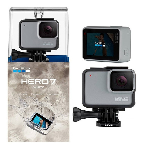 Câmera Gopro Hero 7 White 10mp Full Hd Chdhb-601-rw