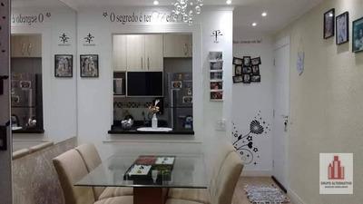 Apartamento Com 2 Dormitórios À Venda, 45 M² Por R$ 229.000 - Ponte Grande - Guarulhos/sp - Ap1014