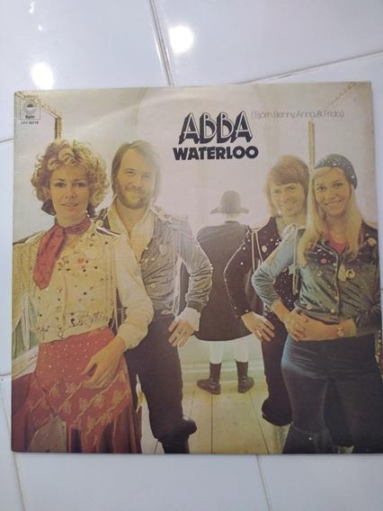 Abba Waterloo Vinilo Original Impecable