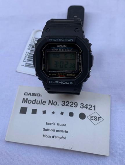 Relógio Casio G-shock Dw5600 Dw-5600 Prata