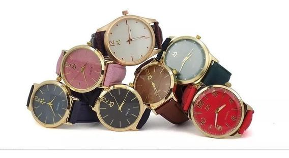 Kit Com 10 Relógio Feminino Atacado Original Revenda