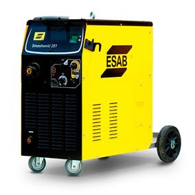 Máquina De Solda Mig Esab Smashweld 351 Topflex 220 Volts