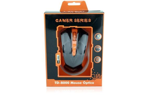 Mouse Gamer Tda 3200dpi Td8000
