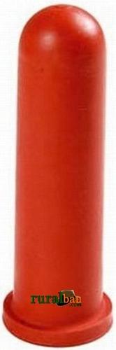 Bico Para Balde Amamentador De Bezerros - 10cm - Emb. C/ 6