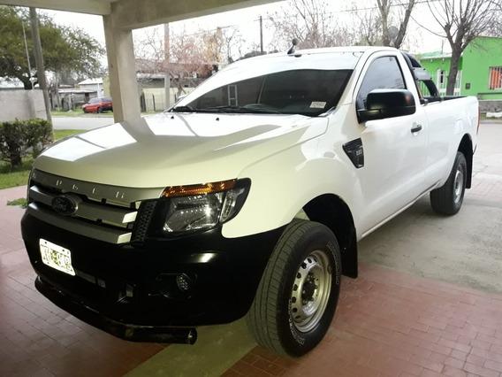 Ford Ranger 2.2 4x2 Xl Cs Blanco 2013 159.000 Km