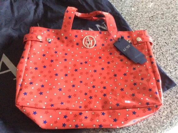 Bolsa Armani Jeans Nova Com Etiqueta Max Bag