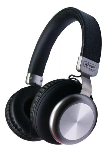 Fone de ouvido sem fio Knup KP-452 preto