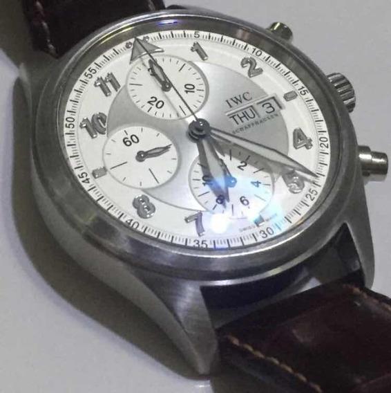 Relógio Original Cronografo Automático Iwc Fliegerur