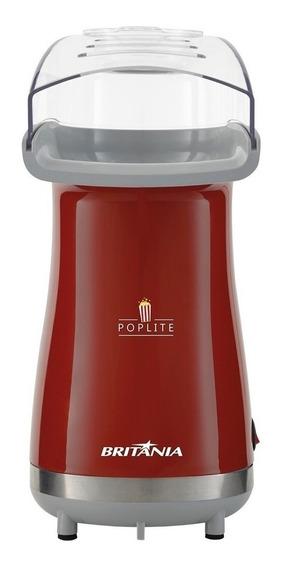 Pipoqueira elétrica Britânia Poplite ar quente vermelho 1200W 127V