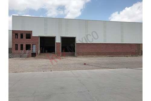 Bodega En Renta En Zona Industrial San Luis Potosí, Nave Industrial En Eje 114 A 800m De Continental Y Av. Industrias.