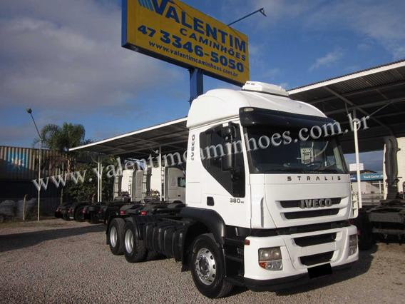 Iveco Stralis Nr 380 - 6x2 - Trucado - 2010