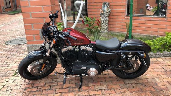 Harley Davidson Forty Eight Xl1200 Edicion Especial Redcandy