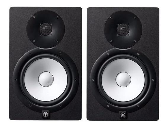Monitor De Referência Ativo Par Yamaha Hs8 Preto 220v