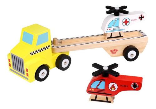 Camión De Madera De Tooky Toy (tkf022)