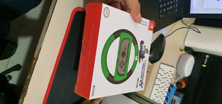 Volante Deluxe Edicion Especial Mario Kart 8 Luigi