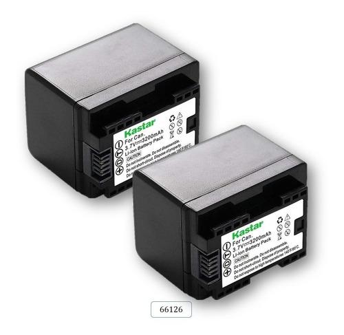 Imagen 1 de 3 de (2) Baterias Mod. 66126 Para Can0n Vixia Hf R80
