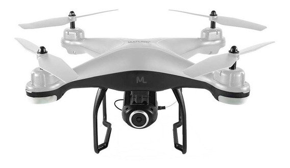 Drone Multilaser Fenix ES204 Full HD branco