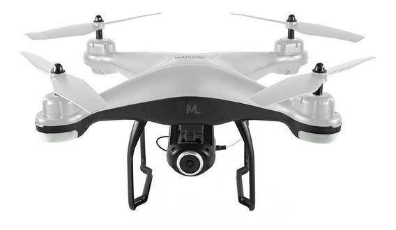 Drone Multilaser Fenix ES204 com cámara Full HD branco/preto
