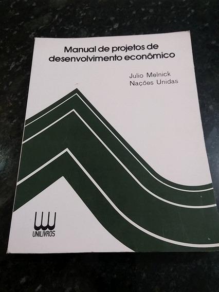 Livro Manual De Projetos De Desenvolvimento Econômico