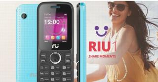 Nuevo Telefono Riu 1 Liberado Con Vibra Call Doble Sim