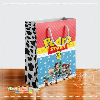 Promoção Sacolinhas Toy Story - 30 Sacolas Tamanho G