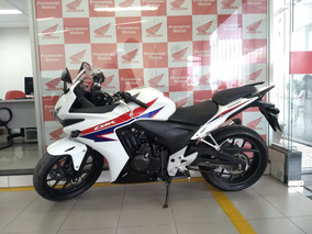 Moto Seminova Honda Cbr 500r Ano 2014