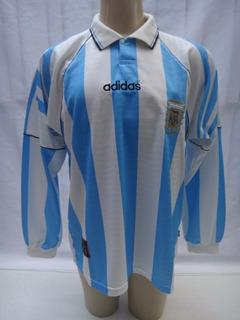 Camisa De Futebol Seleção Argentina 1995/96 Manga Longa Sc20