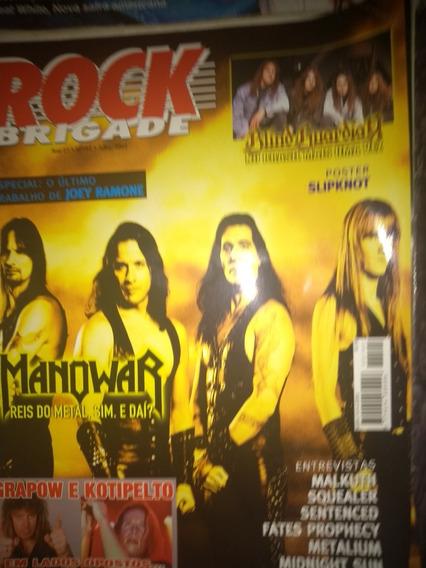 Revista Rock Brigade - Lote 3 Revistas