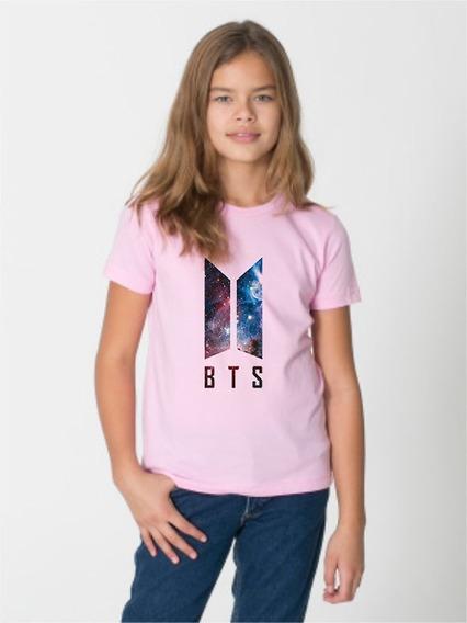 Camiseta Infantil Kpop Bts Jimin Personalizado Promoção