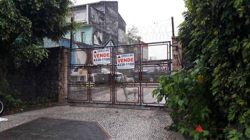 Imagem 1 de 9 de Terreno, 490 M² - Venda Por R$ 1.400.000,00 Ou Aluguel Por R$ 8.000,00/mês - Jardim São Caetano - São Caetano Do Sul/sp - Te0103
