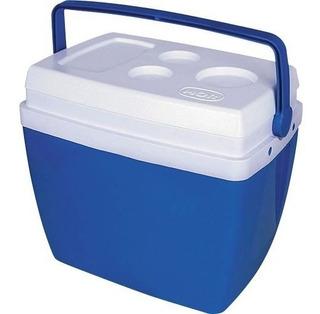Caixa Térmica 26 Litros Com Alça Mor Azul