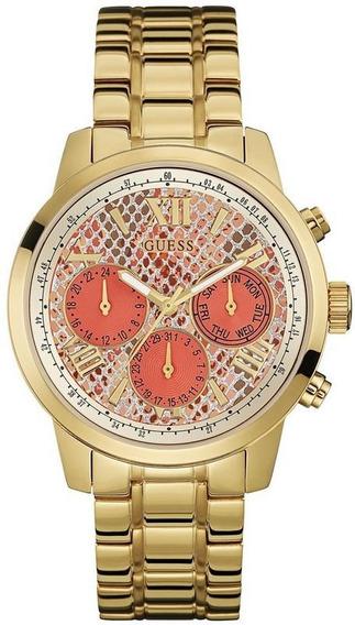 Relógio Guess Feminino Rosa/dourado 92521lpgsda5 /w0330l11