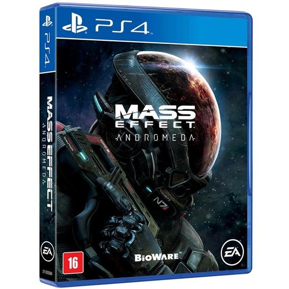 Jogo Mass Effect Andromeda Ps4 Original Disco Fisico Lacrado
